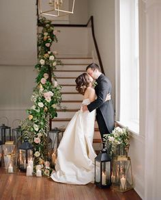 Gorgeous Gown and Garland Inspiration | Charleston, SC
