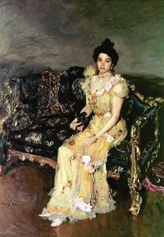 Valentin Serov, Portrait of Sofia Mikhailovna Botkina