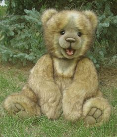 This is the most adorable Teddy Bear I have ever seen!! So darn cute!!!