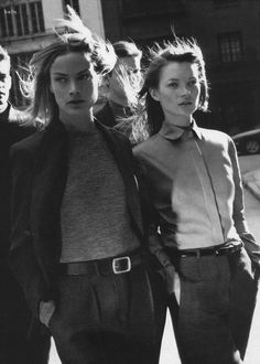 Carolyn Murphy and Kate Moss for Calvin Klein 1998 Kate Moss, Chet Baker, Buckingham Nicks, Lindsey Buckingham, Carolyn Murphy, Ck Calvin Klein, Stevie Nicks Fleetwood Mac, Stephanie Seymour, Mein Style