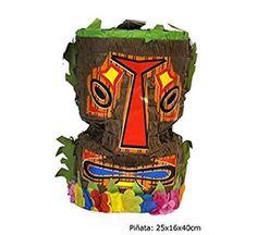 Pinata-TIKI-Maske-Hawaii-Geburtstag-Party-Deko-Kindergeburtstag