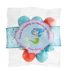 Magical Mermaids party favor