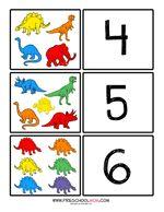 Dinosaur Preschool Printables