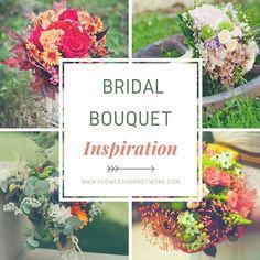 Find inspiration for your wedding with these beautifully designed bridal bouquets. #weddinginspiration #weddingideas