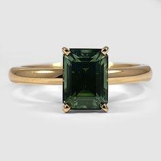 Green Emerald Sapphire