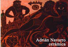 Exposición de cerámicas de Adrián Navarro en Cuenca 2015 #Cuenca #Exposiciones #AdrianNavarro
