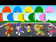 Colors for Children to Learn with Chase, Marshall, Ryder, Skye, Rocky   ...