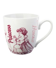 Take a look at this White & Red Princess Mug on zulily today!
