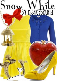 This is so cute! Outfits inspired by Disney characters... Which are not juvenile!