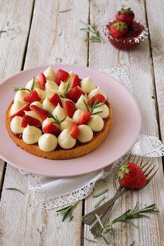Torta fragole e rosmarino - Deliziosa Virtù