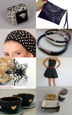 JUST B L A C K by Efrat Kaminer on Etsy--Pinned with TreasuryPin.com