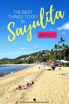 Travel Guide To Sayulita | Best of Mexico | Mexican Beaches | Mexico Backpacking Itinerary | Central America Travel | Mexico Pacific Coast | Popular Places In Mexico | Safe Places In Mexico | #sayulita #mexico #mexicotravel #visitmexico #mexicobeaches #backpacking #centralamerica #surfing #hippy