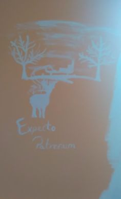 Painting on The wall Expecto Patronum