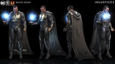 Injustice is back to pit DC's heroes (and villains) against each other in overblown combat. It also put a ton of artists to work designing their own takes on the costumes, characters and environments of the comic empire's properties. Injustice 2 Superman, Injustice 2 Game, Injustice Characters, Dc Characters, Superhero Villains, Superhero Design, Dc Comics Art, Batman And Superman, Super Hero Costumes