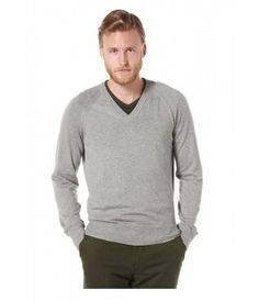 Penguin Kris V Neck Sweater - Dark Steel Heather - The Blues Jean Bar, the Best Place to Buy Jeans! Buy Jeans, Long Shorts, Mens Sale, Penguin, Blues, V Neck, Steel, Bar, Long Sleeve