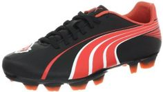 "PUMA Women's Attencio II I FG Soccer Cleat Puma. $45.00. Made in China. Manmade sole. Heel measures approximately 1.25"". leather. Platform measures approximately 0.75"""