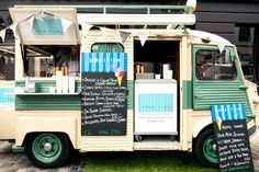 How about the juiciest hand-ground burgers in Britain alongside a vintage drinks truck serving up the finest local keg beers? Or a 1950s crepe van, with a coffee barista sat in an Indonesian tuk tuk? Maybe some Victorian muscle men serving up Scottish moules — and arm wrestling you, just for the hell of it?