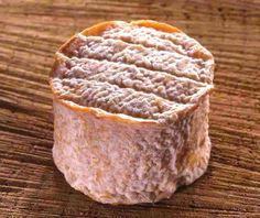 """Rigotte de Condrieu - C'est un fromage fabriqué avec du lait cru entier de chèvre et selon un mode de fabrication à caillage lactique. Le nom de """"Rigotte de Condrieu"""" est attribué seulement à partir de huit jours après le démoulage. De forme cylindrique de 3 cm de haut et de 6 cm de diamètre, la rigotte de Condrieu offre une texture fondante. Son poids minimum est de 30 g et contient environ 45 % de matière grasse."""