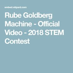 Make a splash in 2018 STEM contest! Stem Subjects, Rube Goldberg Machine, Science Resources, Teaching, Education, School, Learning, Training, Educational Illustrations