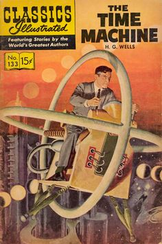 Wells/The Time Machine comic cover