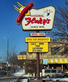 Fluky's | 6821 N Western Ave -Chicago, Il