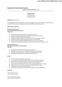 occupational health nurse resume sample - Occupational Health Nurse Sample Resume