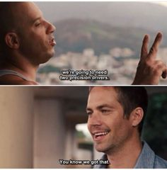 #Fast5: Dom and Brian