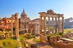 Rome's historic center; 23 Amazing Places You Must Include On Your Italian Road Trip - Hand Luggage Only - Travel, Food & Home Blog