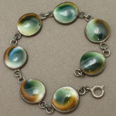 Operculum Bracelet Vintage 1940s Shell