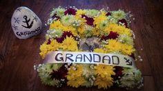 Funeral photo frame wreath x