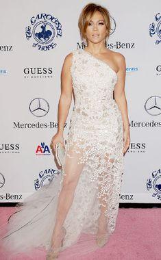 51473471ea902 Jennifer Lopez Robes Haute Couture, Belle Robe, Robes Hautes, Mode Blanche,  Mode