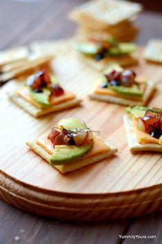 Cracker bruschetta, no-cook easy to make appetizer/snack with toppings that are refreshing & whose flavors blend together in a classic, timeless fashion.