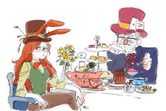 Gravity Falls,фэндомы,alice in wonderland,crossover,Bill Cipher,GF Персонажи,Dipper Pines,Mabel Pines,GRUNKLE STAN,jangohm