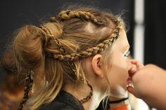 Dothraki braided hairstyle for Irri, Jhiqui or Doreah