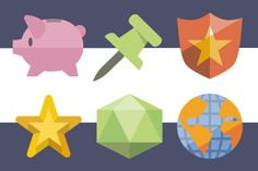 Flat icons: More than 3600 icons  http://www.iconshock.com/icon_sets/flat-icons/