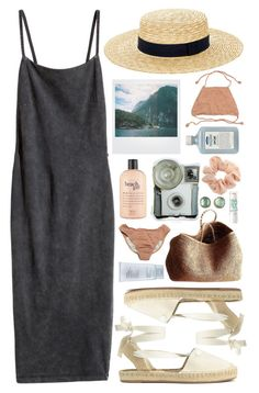 """BOAT DAY"" by i-sabellasmith ❤ liked on Polyvore featuring H&M, Polaroid, Accessorize, philosophy, NORO, Estée Lauder, John Allan's, Topshop and Jamie Joseph"