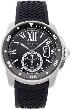 Buy and sell luxury watches on StockX including the Calibre de Carbon Diver in Stainless Steel and thousands of other luxury watches from top brands. Fine Watches, Wrist Watches, Cartier Calibre, Gentleman Watch, Luxury Watches For Men, Stainless Steel, Luxury Watches, Watches, Nice Watches