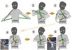 ロープワークの基礎(1)