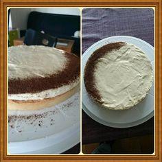 Tarte infiniment vanille de Pierre Hermé par Wilfried Menu, Vanilla Cake, Tiramisu, Ethnic Recipes, Desserts, Food, Pie, Vanilla, Recipes