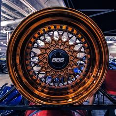 bronze chrome bbs wheels