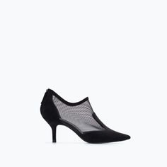 HIGH-HEELED MESH BOOTIE-Ankle boots | ZARA United States