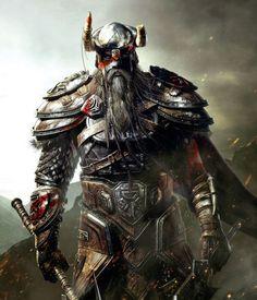 The Elder Scrolls Online. The Elder Scrolls Online The Elder Scrolls, Elder Scrolls Online, Elder Scrolls Games, Elder Scrolls Skyrim, Thor, Vikings, Fantasy Armor, Medieval Fantasy, Character Art