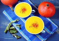 Zupa krem z dyni, kukurydzy i mleka kokosowego