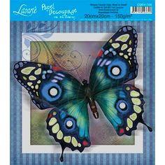 Papel Decoupage Hot Stamping D20H-019 Litoarte - PalacioDaArte