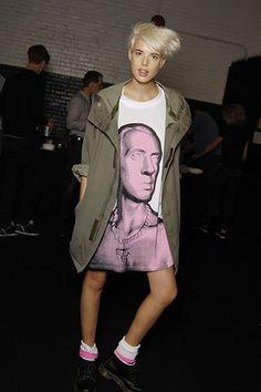 Agyness Deyn, Alexa Chung Style, 80s Punk, Fashion Outfits, Womens Fashion, Female Fashion, Boyish, My Wardrobe, Passion For Fashion