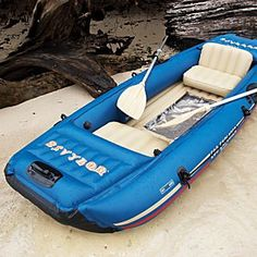 Eco-explorer Boat. It's got a clear bottom and a light that lures underwater creatures for viewing! $250