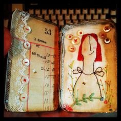 Check out this craft blog with artistic, altered tins!