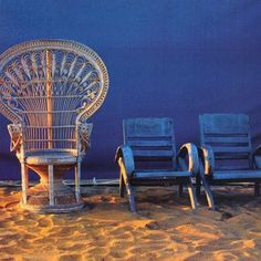 Peacock chair rattan and 1970s on pinterest - Sillon emmanuelle ...