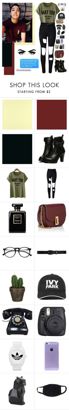 """my hope"" by supremebts ❤ liked on Polyvore featuring Casadeco, WithChic, Chanel, Marc Jacobs, ZeroUV, Lauren Ralph Lauren, John Lewis, Ivy Park, Sephora Collection and Fuji"