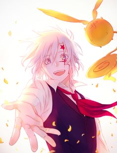 allen walker, D gray man                                                                                                                                                                                 Plus